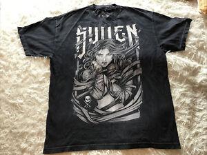 Men's Sullen Art Collective Black T Shirt - Sz XL