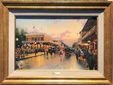 Thomas Kinkade -  Main Street Celebration  8/1250    COA