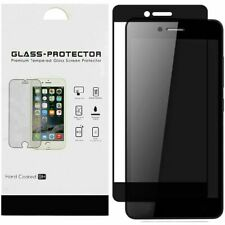 Coolpad Legacy - Bulk White Paper Card Package Black edged Tempered Glass Black