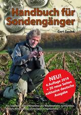 Handbuch für Sondengänger /Auflage 2019 + 20 neue Seiten