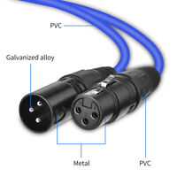 Microphone Lead XLR Patch Cable Male to Female Extension Mic Cable 2M 6M 8M High