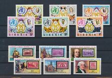 LM76113 Liberia WHO american independence fine lot MNH