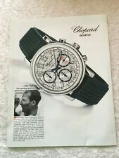 CHOPARD GENEVE CHRONOGRAPH MILLIE MIGLIA POSTER ADVERT READY FRAME A4 SIZE G
