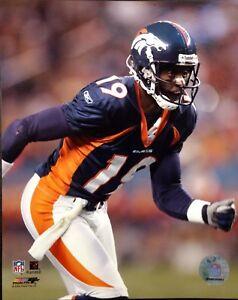 JERRY RICE Denver Broncos 8X10 ACTION PHOTO #2  Denver Broncos