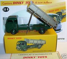 Dinky toys atlas simca cargo truck truck tipping ref 33b box