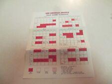 1964 Los Angeles Angels baseball schedule / Ticket order form