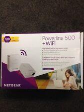 NETGEAR XWNB5201 Powerline 500 + WiFi and 1 Port Starter Kit