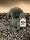 Jellycat Green Forest Bunny Small Rabbit Bashful Plush Lovey Soft Toy BNWT