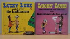 2x Hardcover comic / strip Lucky Luke 1984-1985 NL + Frans