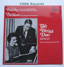 UNS 251 - HAYDN - Concerto for Violin Keyboard & String Orchestra - Ex LP Record
