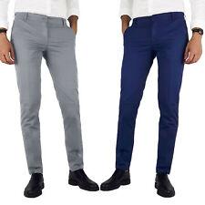 Pantaloni uomo estivi regular Blu Nero Grigio 42 44 46 48 50 52 54 56 ITALIANI