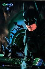 BATMAN FOREVER METAL 1995 FLEER JUMBO METAL PRINTS CASE TOPPER CARD LOT OF 8