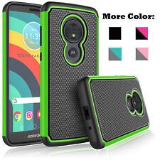 For Motorola Moto G6 Play/G6 Forge/E5 Case Cover+Tempered Glass Screen Protector