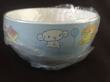 Sanrio Japan Cinnamoroll Light Blue Soup Cup Rice Cereal Bowl Children Freeship