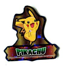 POKEMON MINI STICKER Carte 30X30 N° PIKACHU (2)