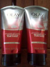 2  Olay Regenerist Advanced Anti Aging Detoxifying Pore Scrub & Cream Cleanser