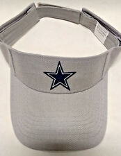 Dallas Cowboys HEAT APPLIED Applique on Silver visor cap hat! Adjustable!
