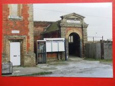 PHOTO  NEEDHAM MARKET RAILWAY STATION 1994 ENTRANCE TO PLATFORMS