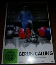 BERLIN CALLING - HANNES STÖHR✨DVD wie NEU📀PAUL KALKBRENNER✨DER KULTFILM AUF DVD