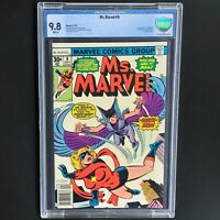 MS. MARVEL #9 (1977) 💥 CBCS 9.8 White Pgs 💥 1st Appearance of DEATHBIRD!