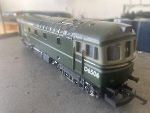Lima Class 33 D6506 In BR Green OO Gauge
