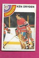 1978-79 OPC # 50 CANADIENS KEN DRYDEN EX CARD  (INV# C2206)