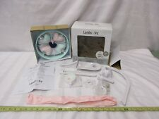 Lambs & Ivy Musical products for baby mobile NIB #591018 hearts blue green pink