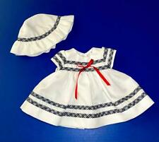 """Tonner Effanbee Pique Picnic Tagged Outfit for 18"""" Baby Button Nose Doll, Ex"""