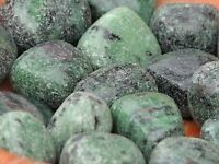 Polished Ruby Zoisite Crystal Tumbled Stones x 2 Pieces - Omni New Age