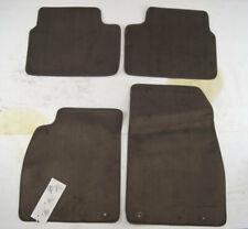 2011-2014 Buick Regal Floor Mat Set 4pcs Cocoa Brown New 23119651