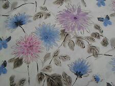 Designers Guild Fabric 'Amala' Heather 3.25 METRES 100% Linen Kimono Blossom
