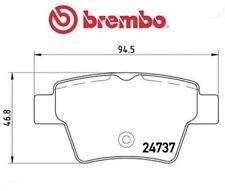 P61100 Kit pastiglie freno, Freno a disco (MARCA-BREMBO)