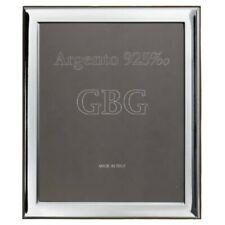 Cadre Photo en Argent Massif 925 Glossy cm 20 x 25