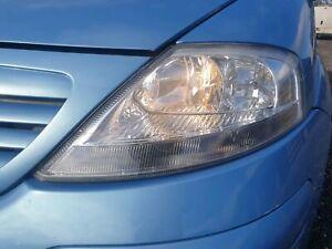 Citroen C3 I MK1 2005-2009 Passenger NS Headlight Headlamp KMYD BB-A22