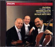 BEAUX ARTS TRIO: Dvorak Dumky Mendelssohn Klaviertrio op.49 Menahem Pressler CD