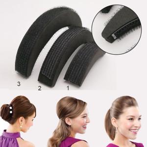 3Pcs/set Hair Volume Increase Puff Sponge Pad Bump Updo Insert Base Styling Tool