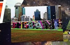 Brisbane Letter Sign Postcard x10