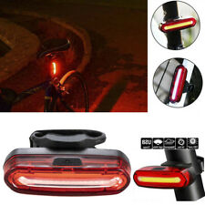 Bike Bicycle Cycling Waterproof Led Lamp Front Rear Tail Light Usb Rechargeable