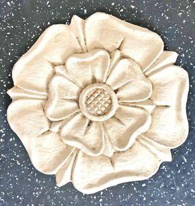 Latex Mould for making lovely Tudor rose Plaque