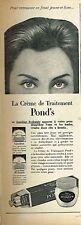 F- Publicité Advertising 1959 Cosmétique crème Pond's