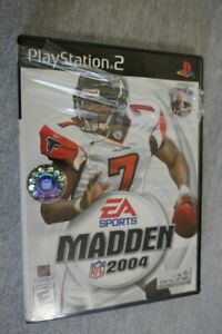 Madden 2004 (Sony PlayStation 2, 2003) PS2 Video Game Complete