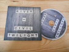 CD Pop Civil Twilight - River (2 Song) Promo WIND-UP / MEMBRAN cb