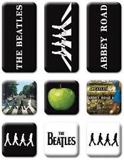 Beatles Abbey Road set of 9 mini fridge magnets (ro)