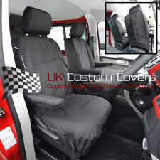 VW TRANSPORTER T6 & CARAVELLE TAILORED WATERPROOF SEAT COVERS 2015 ON 104