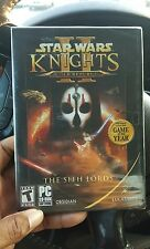 STAR WARS KNIGHTS OF THE OLD REPUBLIC II THE SITH LORDS * PC * BRAND NEW SEALED!