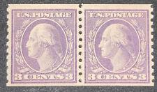 Travelstamps: 1916 US STAMP SCOTT #494 Prf10 3c MINT MOGLH