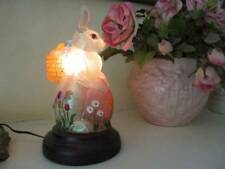 Scarce Hard to Find Old World Christmas Easter Bunny Light New in Box