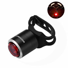 ROCKBROS Cycling Black Tail Light IPX5 Waterproof Warning Lamp USB Rechargeable