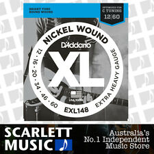 D'Addario EXL148 12-60 Electric Guitar Strings Extra Heavy Daddario EXL-148