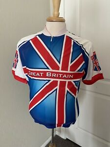 Canari Great Britain Women's Cycling Jersey Union Flag Medium